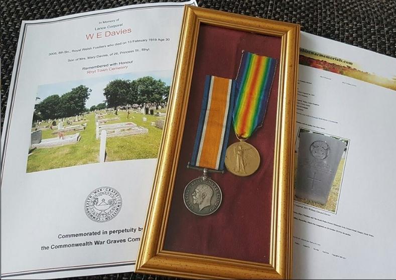 davies william edward flintshire war memorials. Black Bedroom Furniture Sets. Home Design Ideas